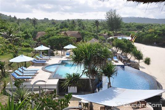 巴厘岛梦想沙滩小屋旅馆(Dream Beach Huts Bali)
