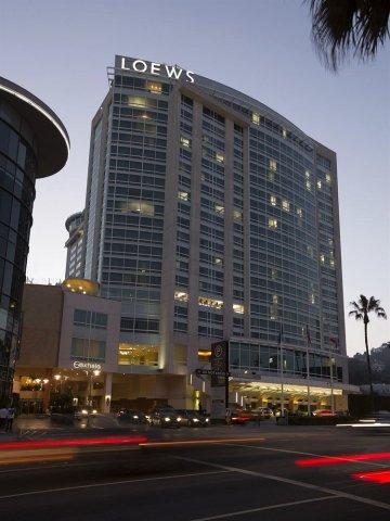 洛伊斯好莱坞酒店(Loews Hollywood Hotel)