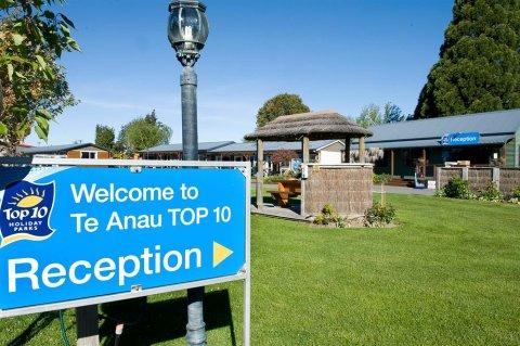 蒂阿诺十大假日公园酒店(Te Anau Top 10 Holiday Park)