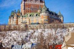 魁北克城费尔蒙芳缇娜城堡酒店(Fairmont le Chateau Frontenac Hotel Quebec City)