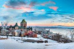 魁北克城费尔蒙勒拉菲弗龙特纳克酒店(Fairmont le Chateau Frontenac Hotel Quebec City)