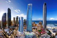 希尔顿冲浪者天堂酒店(Hilton Surfers Paradise Hotel)