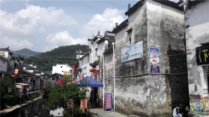 婺源溪边饭店