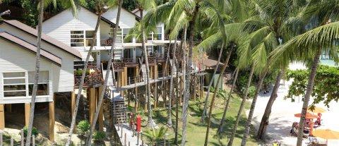 马努干岛度假村 - 舒特拉保护区小屋(Sutera Sanctuary Lodges @ Manukan Island)