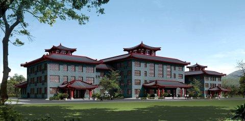 衡山华夏湘江·福满地游客服务中心