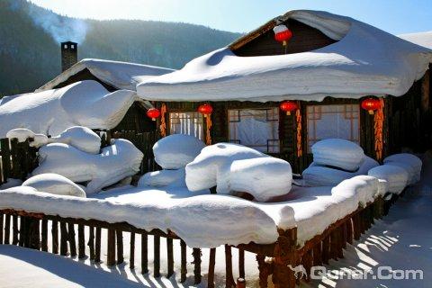 尚志市亚布力滑雪场雪之都山庄
