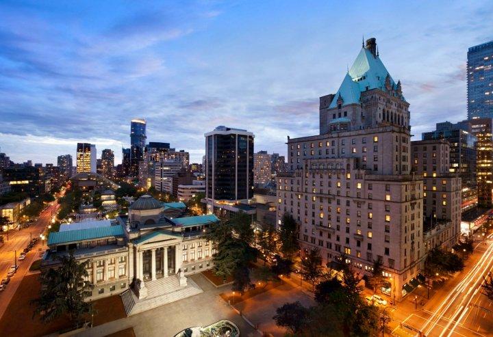 温哥华费尔蒙特酒店(Fairmont Hotel Vancouver)