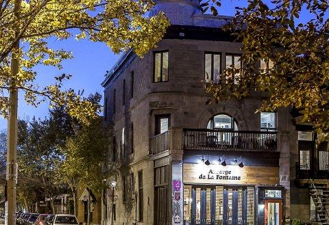 奥博格拉福酒店(Auberge de La Fontaine)