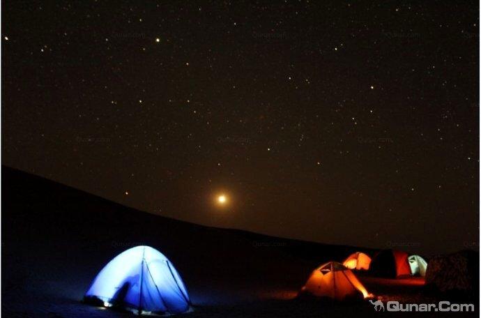 敦煌沙漠穿越露营基地