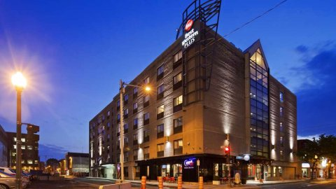 魁北克城中心/森特维尔贝斯特韦斯特优质酒店(Best Western Plus Centre-Ville/City Centre Québec)