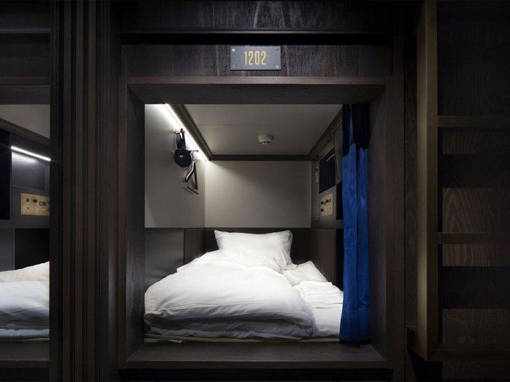 东京银座豌豆荚胶囊旅馆(The Prime Pod Ginza Tokyo)