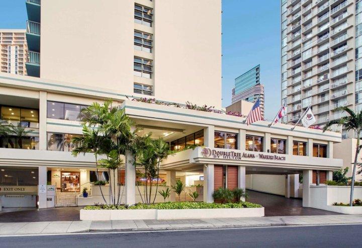 阿拉纳希尔顿逸林酒店 - 威基基海滩(DoubleTree by Hilton Alana - Waikiki Beach)