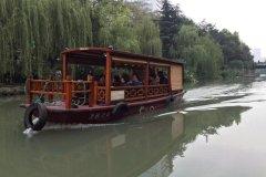 杭州东河边历史保护区内的明清老宅客栈