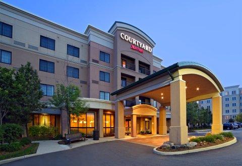 密西沙加机场企业中心西万怡酒店(Courtyard by Marriott Mississauga-Airport Corporate Centre West)