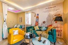泰安观山现代风格两居室普通公寓