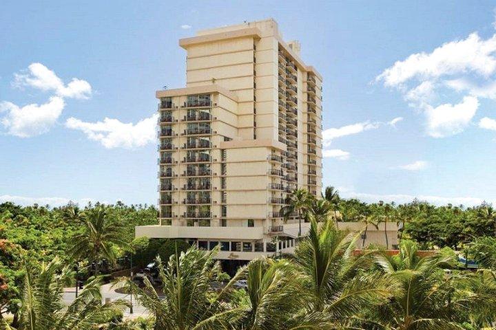 鲁阿纳威基基阿瓜精品酒店(Luana Waikiki Hotel & Suites)