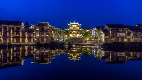 重庆大足石刻开元观堂酒店