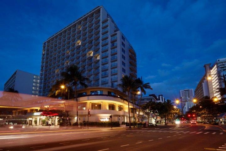 奥特瑞格奥哈纳威基基东部酒店(OHANA Waikiki East by Outrigger)