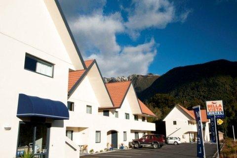 贝拉维斯特汽车旅馆(Bella Vista Accommodation Fox Glacier)
