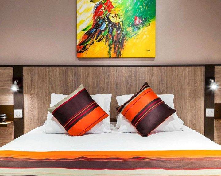 里昂中心舒适套房左岸酒店(Comfort Suite Rive Gauche Lyon Centre)