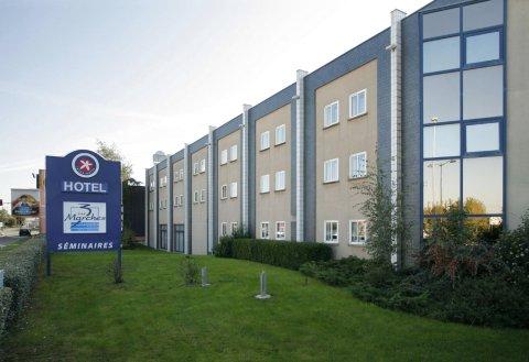 雷恩西部3马尔时原生酒店(Hotel the Originals Rennes Ouest les 3 Marches)