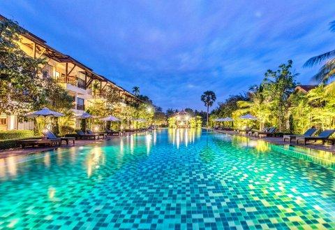 暹粒宫殿别墅酒店(Palace Residence & Villa Siem Reap)