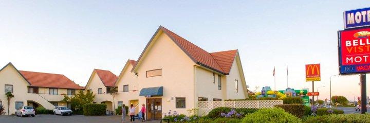 贝拉维斯塔奥玛鲁汽车旅馆(Bella Vista Motel Oamaru)