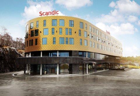 卑尔根斯堪迪克弗莱兰机场酒店(Scandic Flesland Airport Bergen)