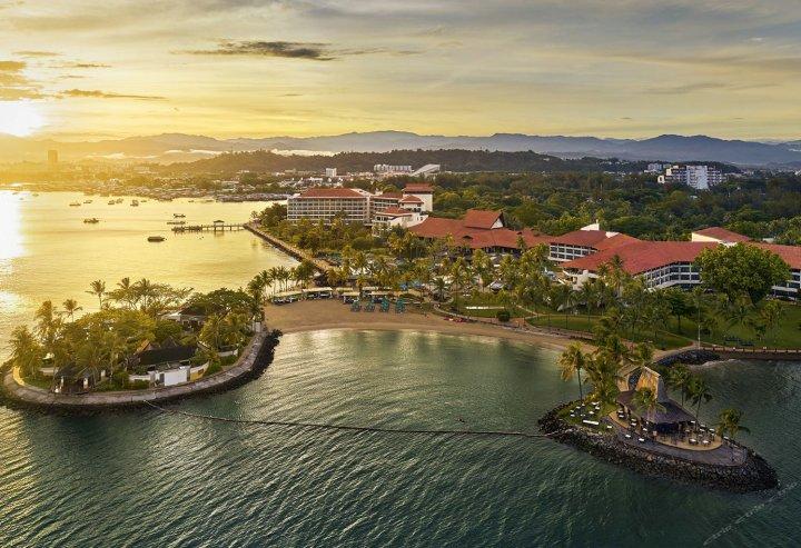 香格里拉丹绒亚路酒店(Shangri La's Tanjung Aru Resort and Spa)