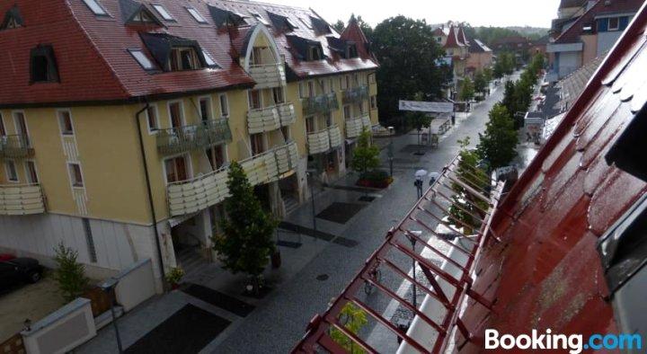 Stay in Heviz Rákóczi