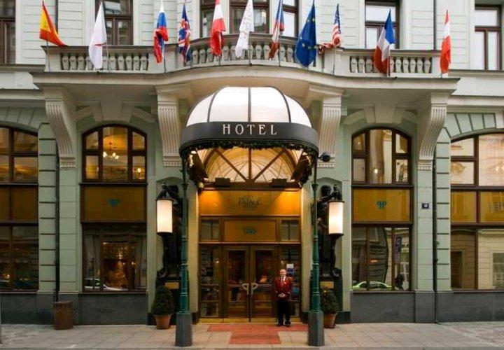 布拉格新艺术风格宫殿酒店(Art Nouveau Palace Hotel Prague)