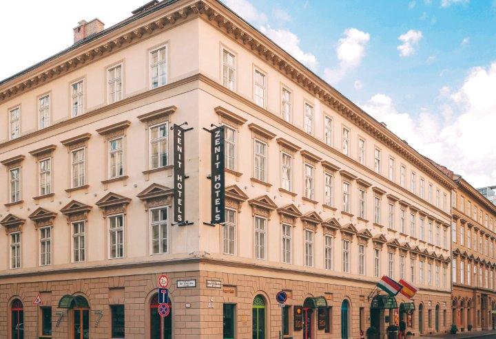 布达佩斯泽尼特皇宫酒店(Hotel Zenit Budapest Palace)