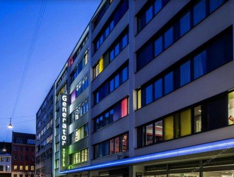 哥本哈根哲奈瑞特酒店(Generator Copenhagen)
