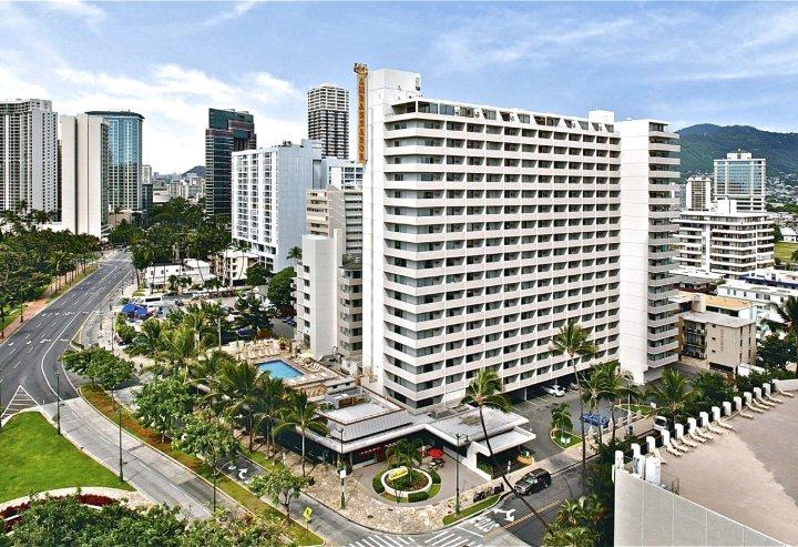 夏威夷·火奴鲁鲁威基基国宾大酒店(Ambassador Hotel Waikiki Honolulu)