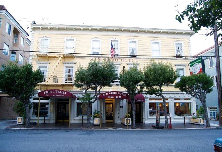 旧金山圣雷莫酒店(San Remo Hotel San Francisco)