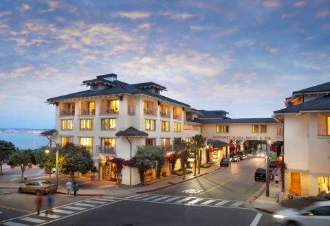蒙特利广场酒店及水疗中心(Monterey Plaza Hotel & Spa)