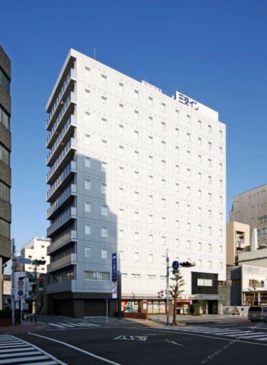 静冈北口三交酒店(Sanco Inn Shizuoka Kitaguchi)