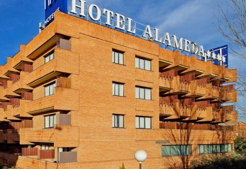 马德里阿拉梅达机场爵怡酒店(Tryp Madrid Alameda Aeropuerto Hotel)