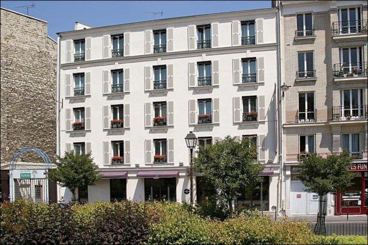 巴黎卢特西皇家港口别墅酒店(Villa Lutèce Port Royal Paris)