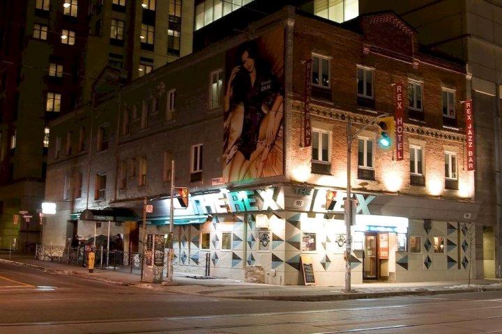雷克斯爵士&蓝调酒吧酒店(Rex Hotel (Toronto))