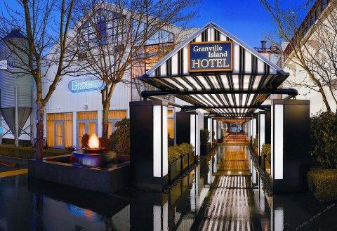 温哥华格兰维尔岛酒店(Granville Island Hotel Vancouver)