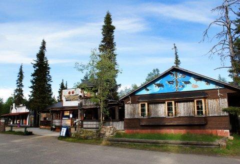 坦卡瓦亚黄金乡村酒店(Tankavaara Gold Village)