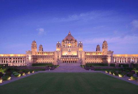 乌麦德巴哈湾皇宫酒店(Umaid Bhawan Palace)