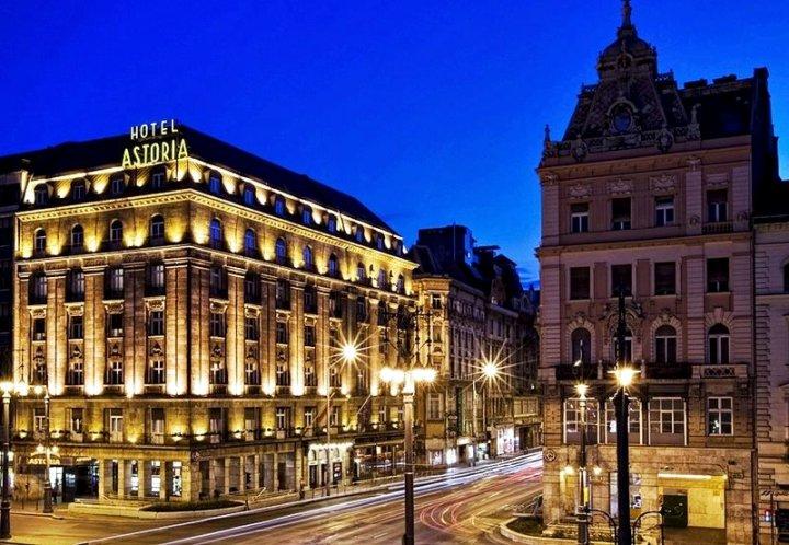 布达佩斯丹比斯艾斯图里亚酒店(Danubius Hotel Astoria City Center Budapest)