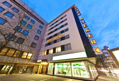斯图加特火车总站里克尔诺富姆酒店(Novum Hotel Rieker Stuttgart Hauptbahnhof)