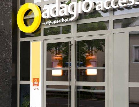 图尔阿德吉奥阿克瑟斯公寓式酒店(Aparthotel Adagio Access Tours)