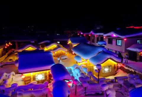雪乡史俊柱家庭旅馆