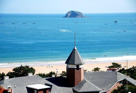 青岛崂山沙滩酒店