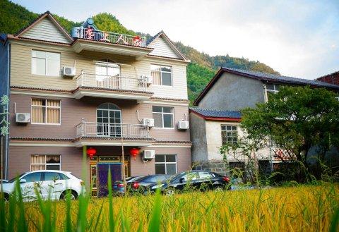 杭州临安浙西大峡谷垄上人家农家旅店