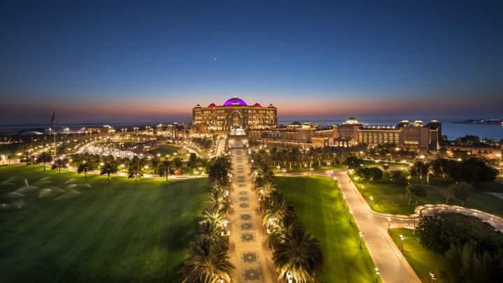阿布扎比阿联酋皇宫酒店(Emirates Palace Hotel Abu Dhabi)